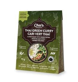 Cha's Organics Thai Green Curry Paste