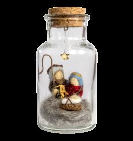 dZi Inc. Nativity Story Jar