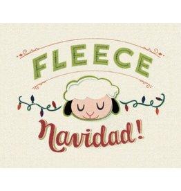 Good Paper Fleece Navidad Card