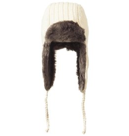 ARK Imports White Aviator Hat
