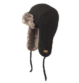 ARK Imports Black Aviator Hat