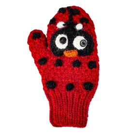 Andes Gifts Child Ladybug Mittens