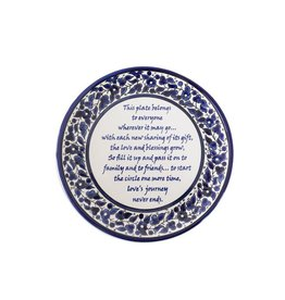 Hebron Glass The Giving Plate