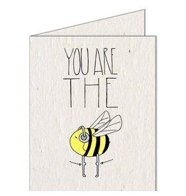 Koru Street Bees Knees Seed Card