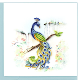 Quilling Card Peacock Card