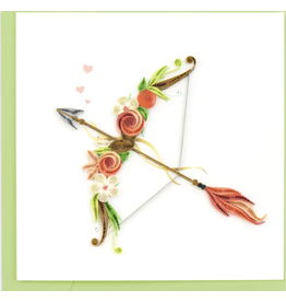 Quilling Card Cupids Arrow Card