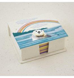 Mr. Ellie Pooh Sea Otter Note Box Set