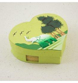 Mr. Ellie Pooh Green Elephant Note Box Set