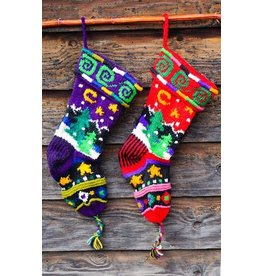 Association of Craft Producers Knit Holiday Stocking