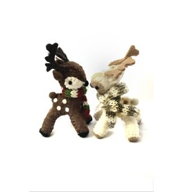 Association of Craft Producers Felted Reindeer Ornament
