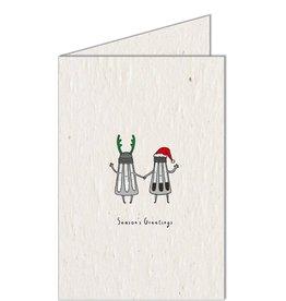 Koru Street Seasons Greetings Card