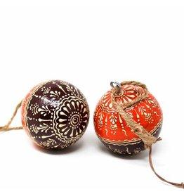 Asha Handicrafts Henna Sphere Ornament
