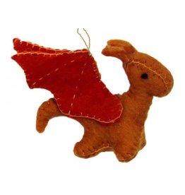 Global Groove Sun Dragon Ornament