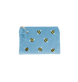 Just Trade Bumblebee Coin Purse (Blue)