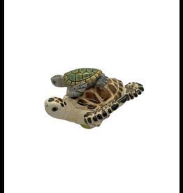 Manos Amigas Ceramic Turtle and Child