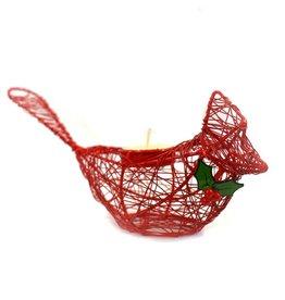 Mira Fair Trade Cardinal Candleholder