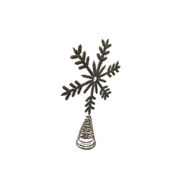 Sasha Association for Crafts Producers Silver Snowflake Treetopper