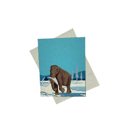 Mr. Ellie Pooh Woolly Mammoth Card