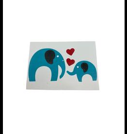 Saidpur Enterprises Loving Heart Elephant Greeting Card