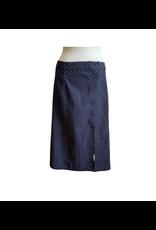 Mata Traders Dobby Pencil Skirt