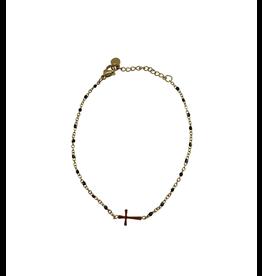 Starfish Project Gold Cross Bracelet