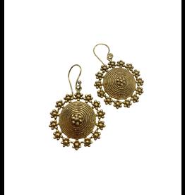 Asha Handicrafts Flower Play Earrings