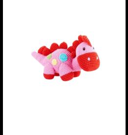 Kahiniwalla Pink Dinosaur Rattle
