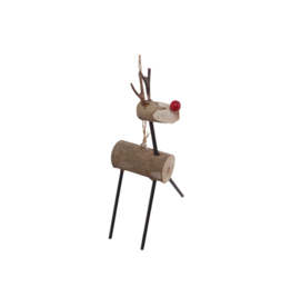 Community Crafts Association of the Philippines Standing Reindeer Ornament