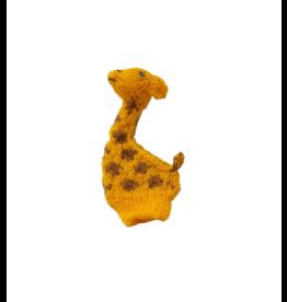 Lucuma Designs Giraffe Finger Puppet