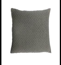 Kumbeshwar Technical School Jamuna Stitch Cushion - Grey
