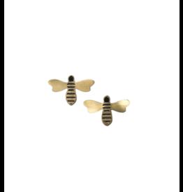 Tara Projects Petite Honey Bee Studs