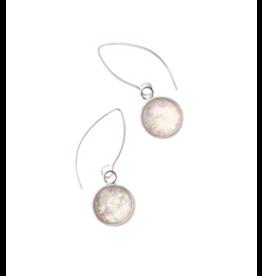 Starfish Project Silver Opal Earrings