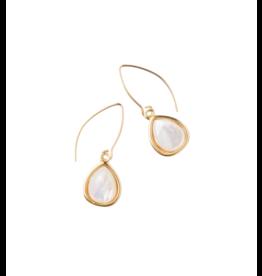 Starfish Project Gold Pearl Drop Earrings