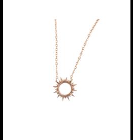 Starfish Project Mallory Gold Sun Necklace