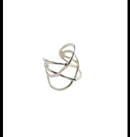 Tara Projects Criss Cross Ring
