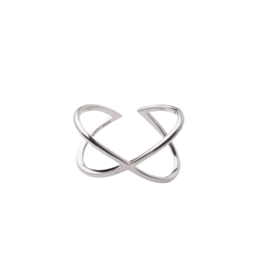 Starfish Project Silver Infinity Ring