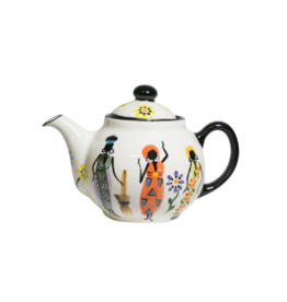Kapula Village Ladies Ceramic Teapot