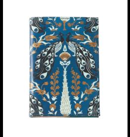 Matr Boomie Blue Leather Peacock Journal
