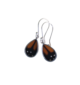 Women of the Cloud Forest Monarch Butterfly Earrings
