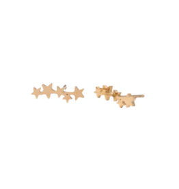 Starfish Project Golden Star Crawler Earrings