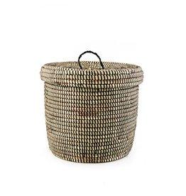 Swahili Modern Midnight Storage Basket