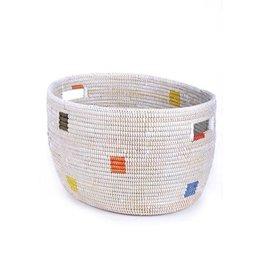 Swahili Modern Prism Knitting Basket (Large)