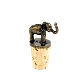 Swahili Modern Elephant Bottle Topper