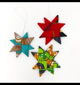 Azizi Life Fabric Star Ornament