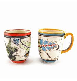 Lucia's Imports Wild Bird Latte Mug