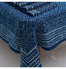 Sevya Handmade Deep Indigo Tablecloth