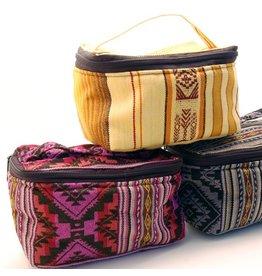 Minga Imports Woven Cosmetic Bag