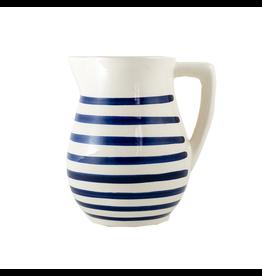 Sobremesa Blue Stripe Pitcher