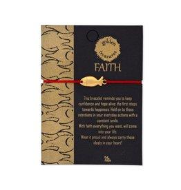 Sapia Golden Faith Bracelet