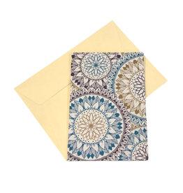 Koru Street Mandala Seed Card